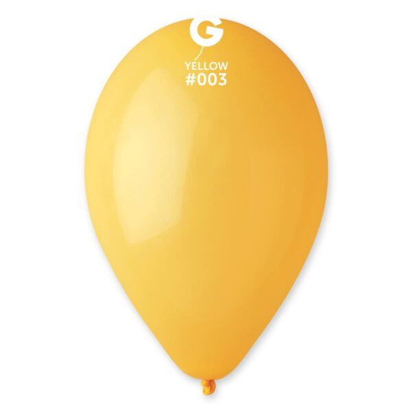 """G110: #003 Yellow 110302 Standard Color 12"""""""