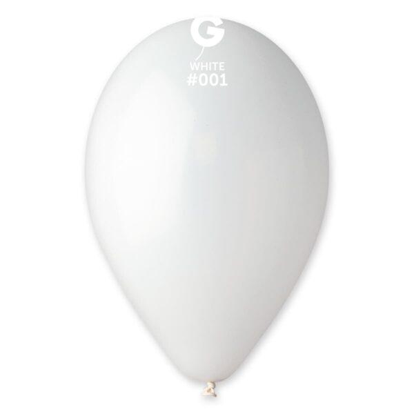 "G110: #001 White 110104 Standard Color 12"""