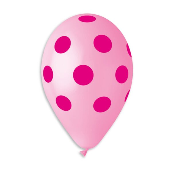 GS110: #057 Pink/Fuchsia Polka Dot 115710