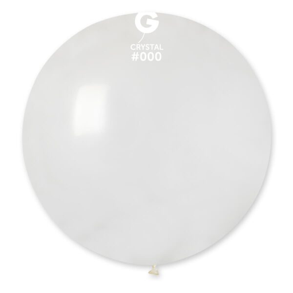 """G30: #000 Clear 329704 Crystal Color 31"""""""