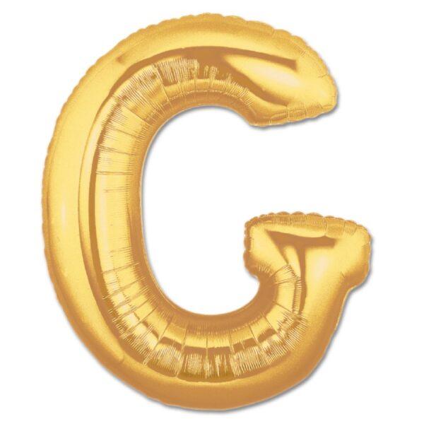 Foil Letter 7″ G Gold
