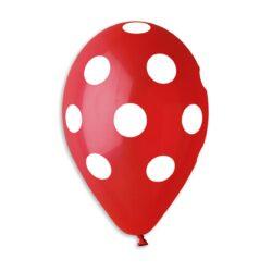 GS110: #045 Red/White Polka Dot 914115