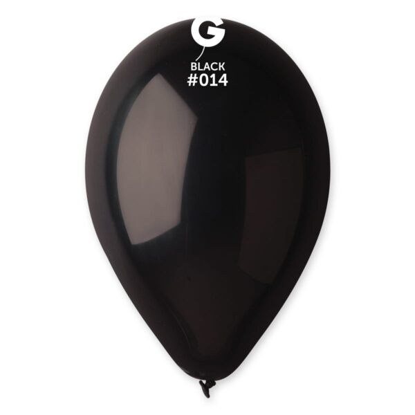 """G110: #014 Black 111408 Standard Color 12"""""""