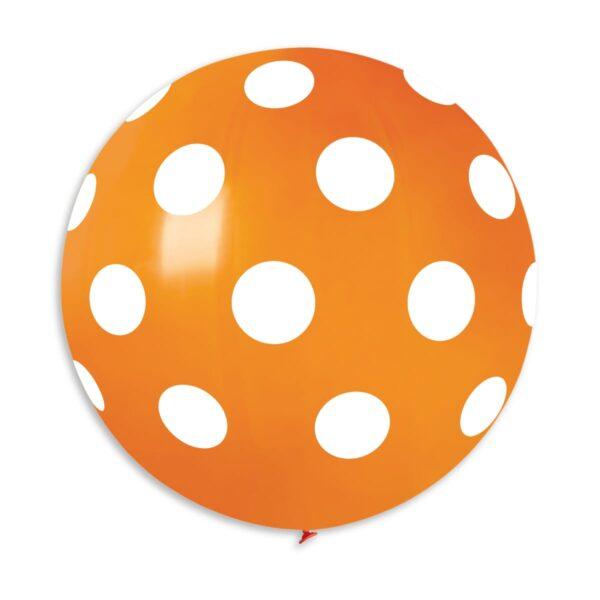 G220P: #004 Orange Polka Dot 314373
