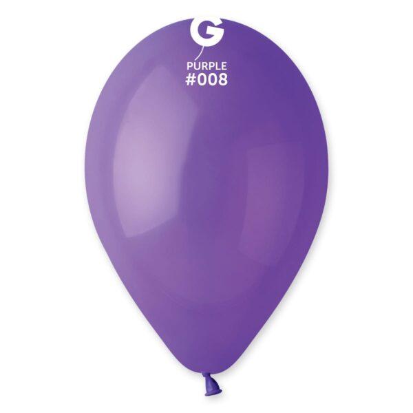 "G110: #008 Purple 110807 Standard Color 12"""