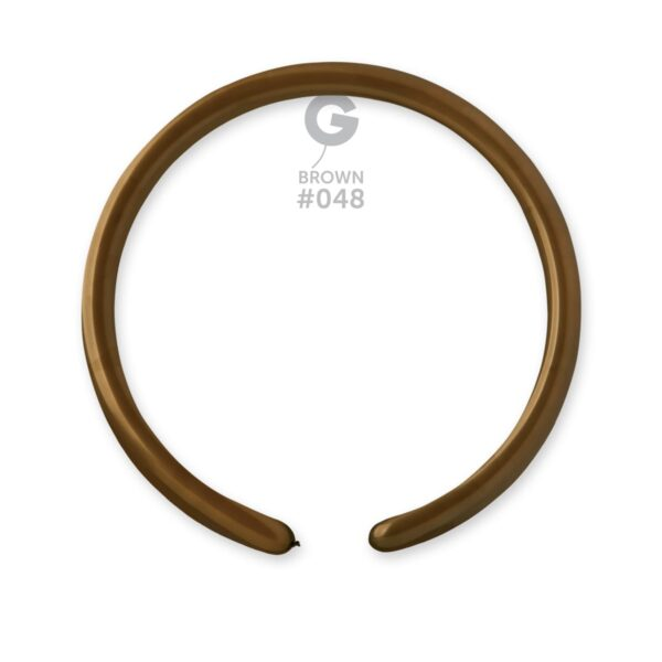"""D2: #048 Brown  214802 Standard Color 1/60"""""""