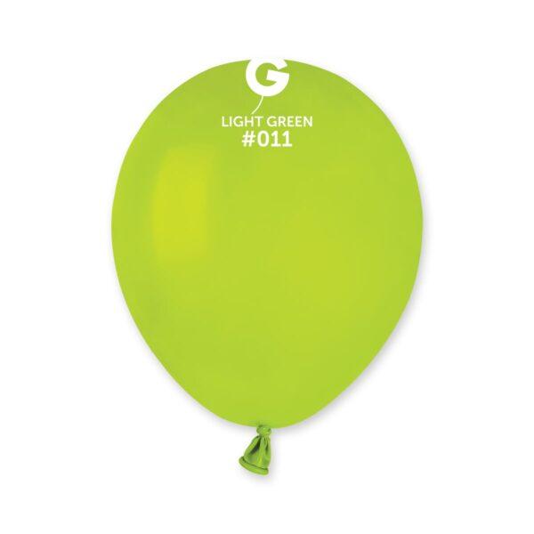 "A50: #011  Light Green 051117 Standard Color 5"""