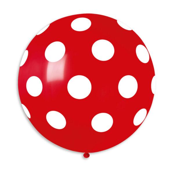 G220P: #045 Red Polka Dot 314342