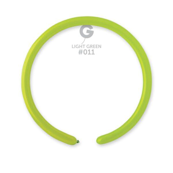 "D2: #011 Light Green 211108 Standard Color 1/60"""