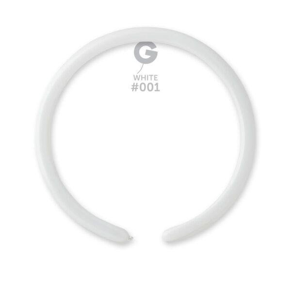 Standard White #001 – 1in