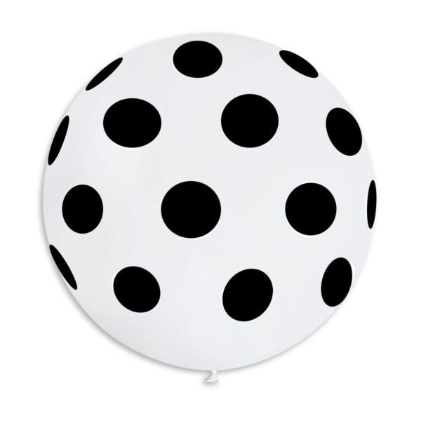 G220P: #001 White Polka Dot 314311