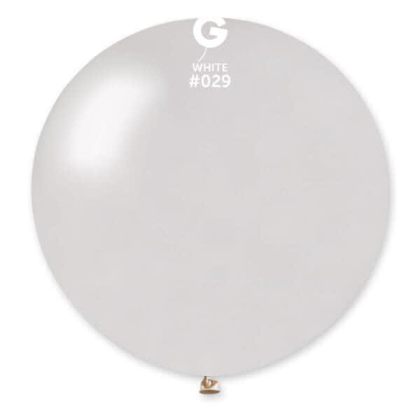Metallic White #029 – 31in
