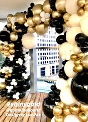 Classy Balloon Arch with structure