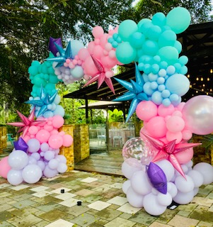 Girly Organic Arch Structure
