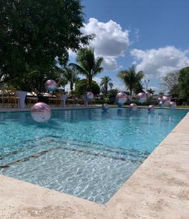 Floating Pool Orbz 16″