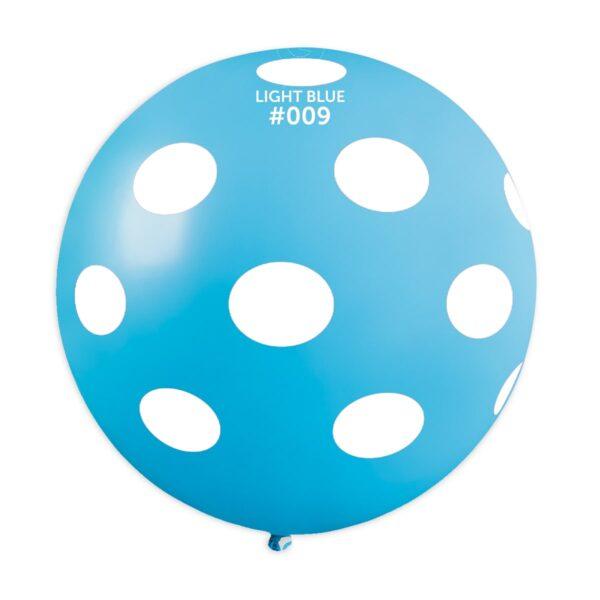 GS30: #009 Light Blue/White Polka Dot 327366