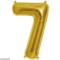 Foil Number 7″ 7 Gold