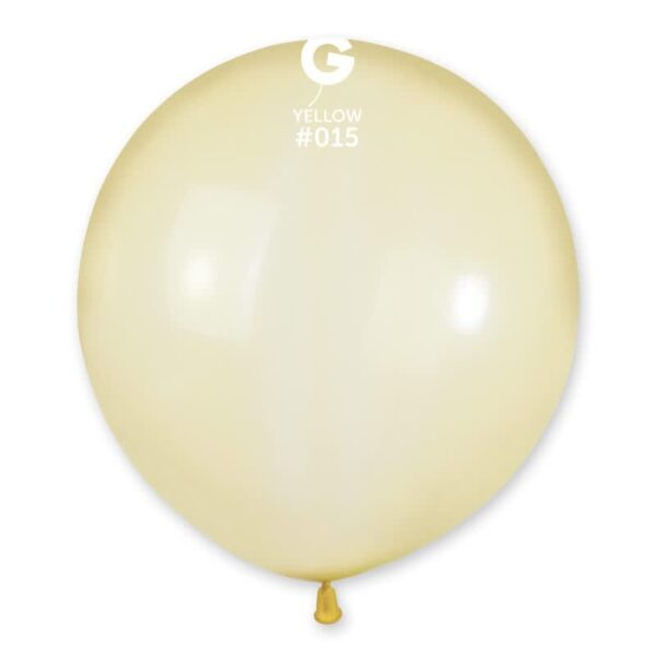 "G150: #015 Crystal Yellow 151558 Crystal Color 19"""