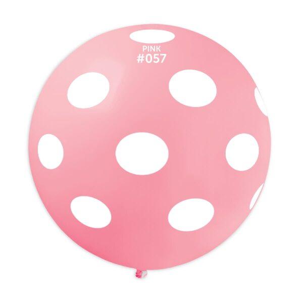 GS30: #057 Pink/White Polka Dot 327380