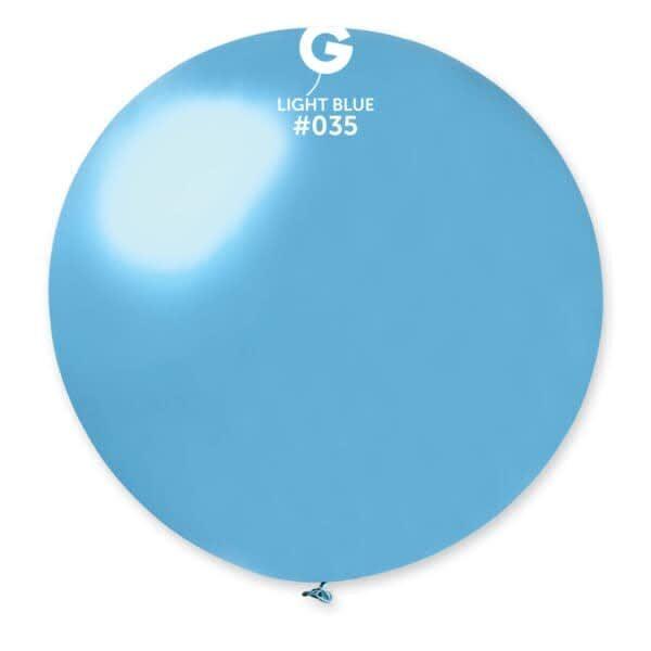 "GM30: #035 Metal Light Blue 340310 Metallic Color 31"""