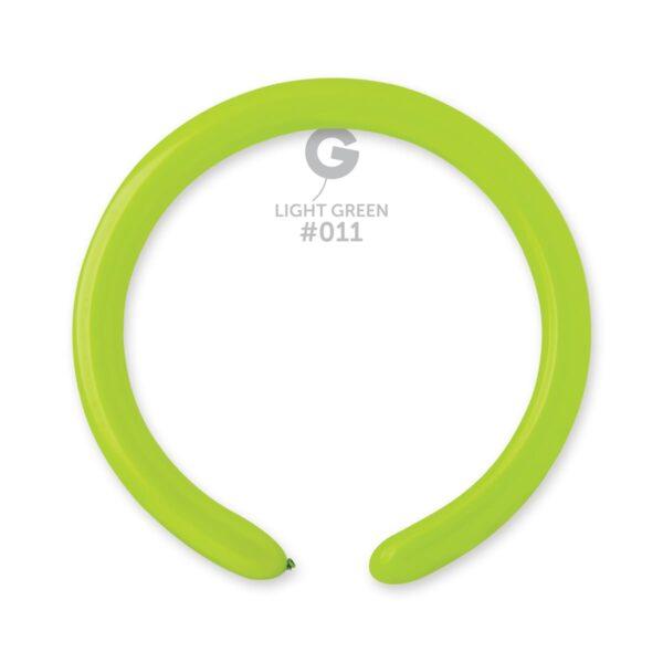 "D4: #011 Light Green 551105 Standard Color 2/60"""