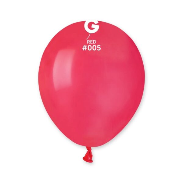 """A50: #005 Red 050516 Standard Color 5"""""""