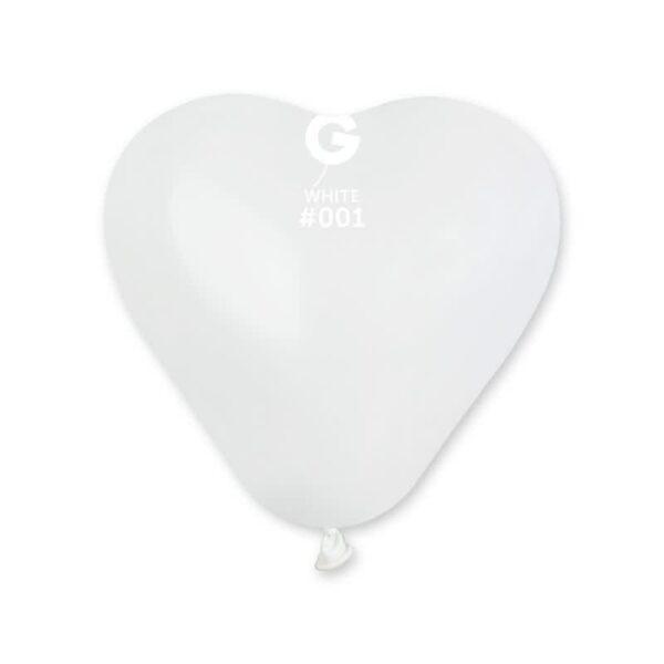 CR6:#001 White Heart Shape 570113