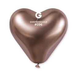 #096 Shiny Heart Rose Gold 199659