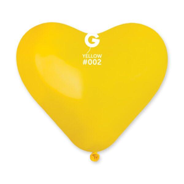 CR6:#002 Yellow Heart Shape 570212
