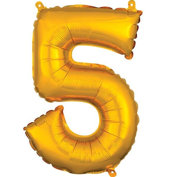 Number 5 Gold – 7in