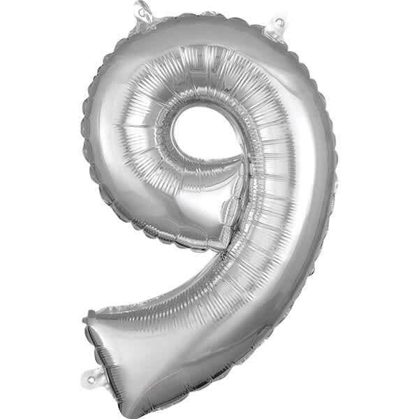 Number 9 Silver – 7in