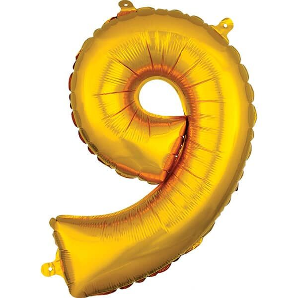 Number 9 Gold – 7in