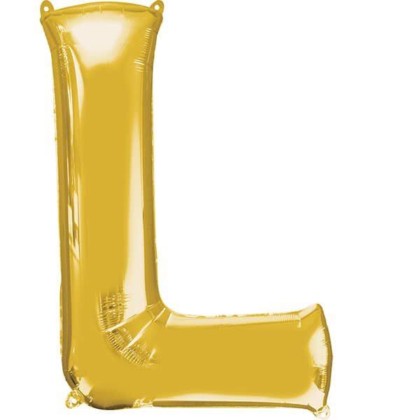 Letter L Gold – 7in