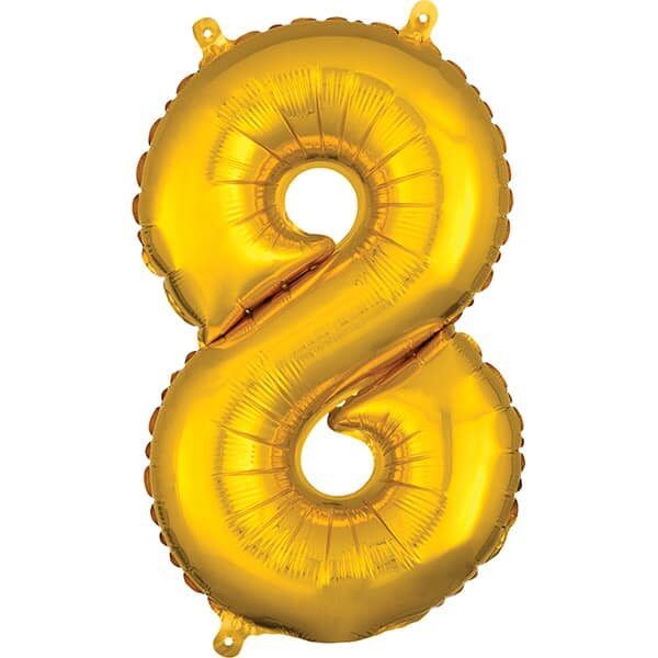 Number 8 Gold – 7in