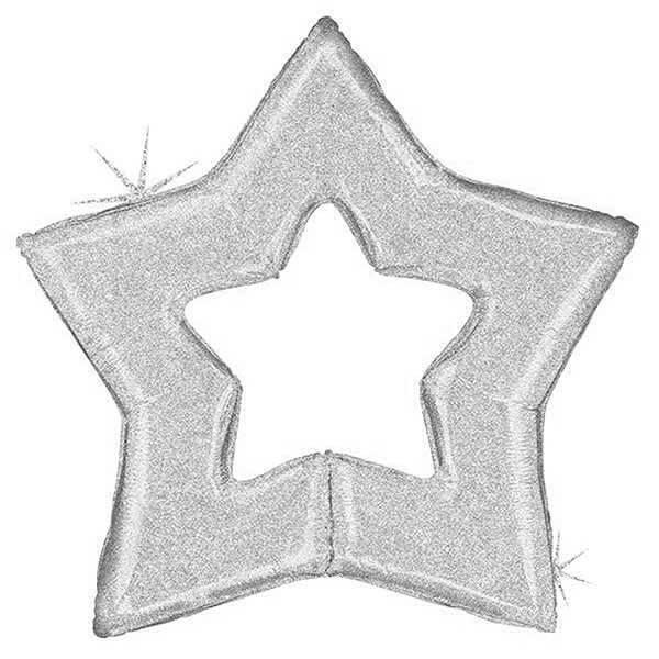 Open Star Silver – 48in
