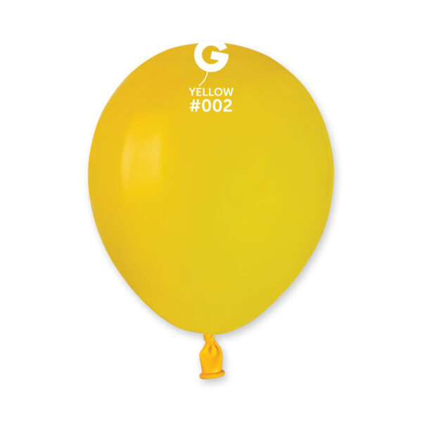 Standard Yellow #002 – 5in